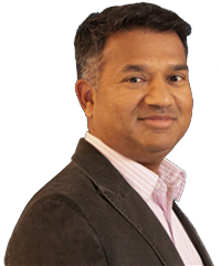 Headshot of Anand Santhanam from Infosys