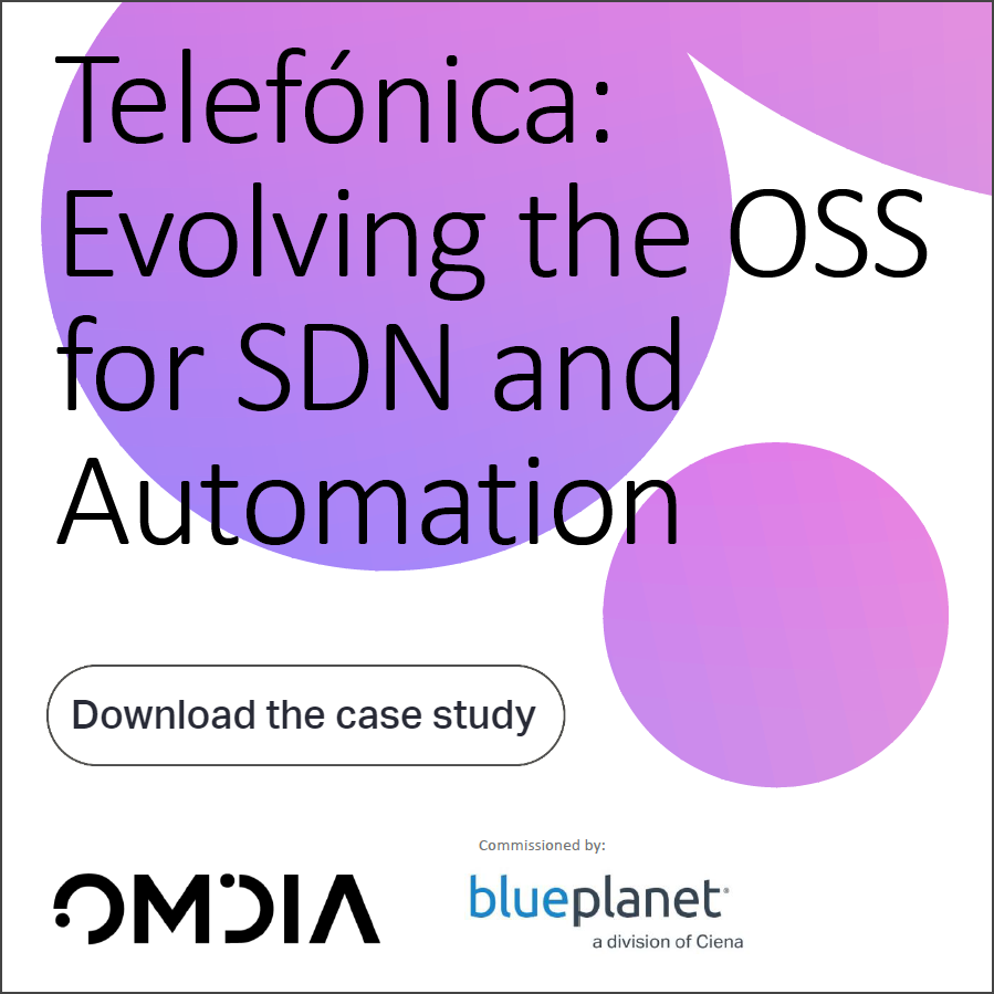 Case Study: Telefonica - Evolving the OSS for SDN and Automation