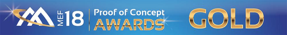 MEF Proof of Concept Awards Gold 2018