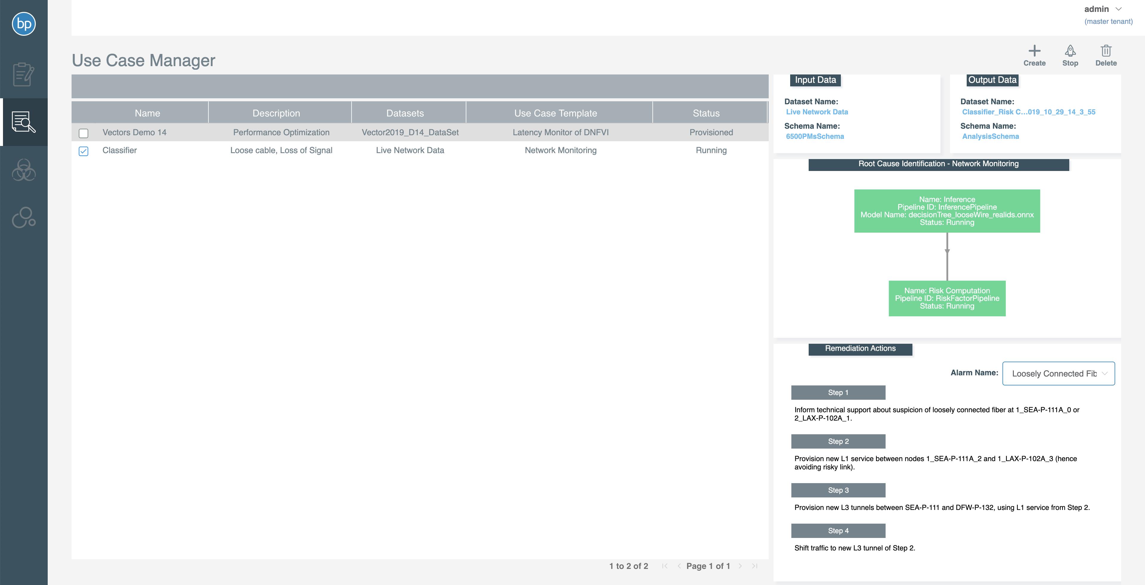 PNM Solution Page Screenshot