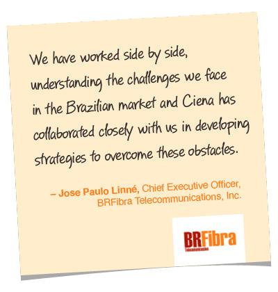 Jose Paulo Linne quote, BRFibra