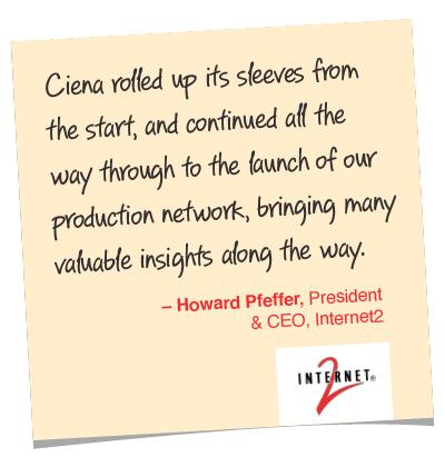 Howard Pfeffer quote, Internet2