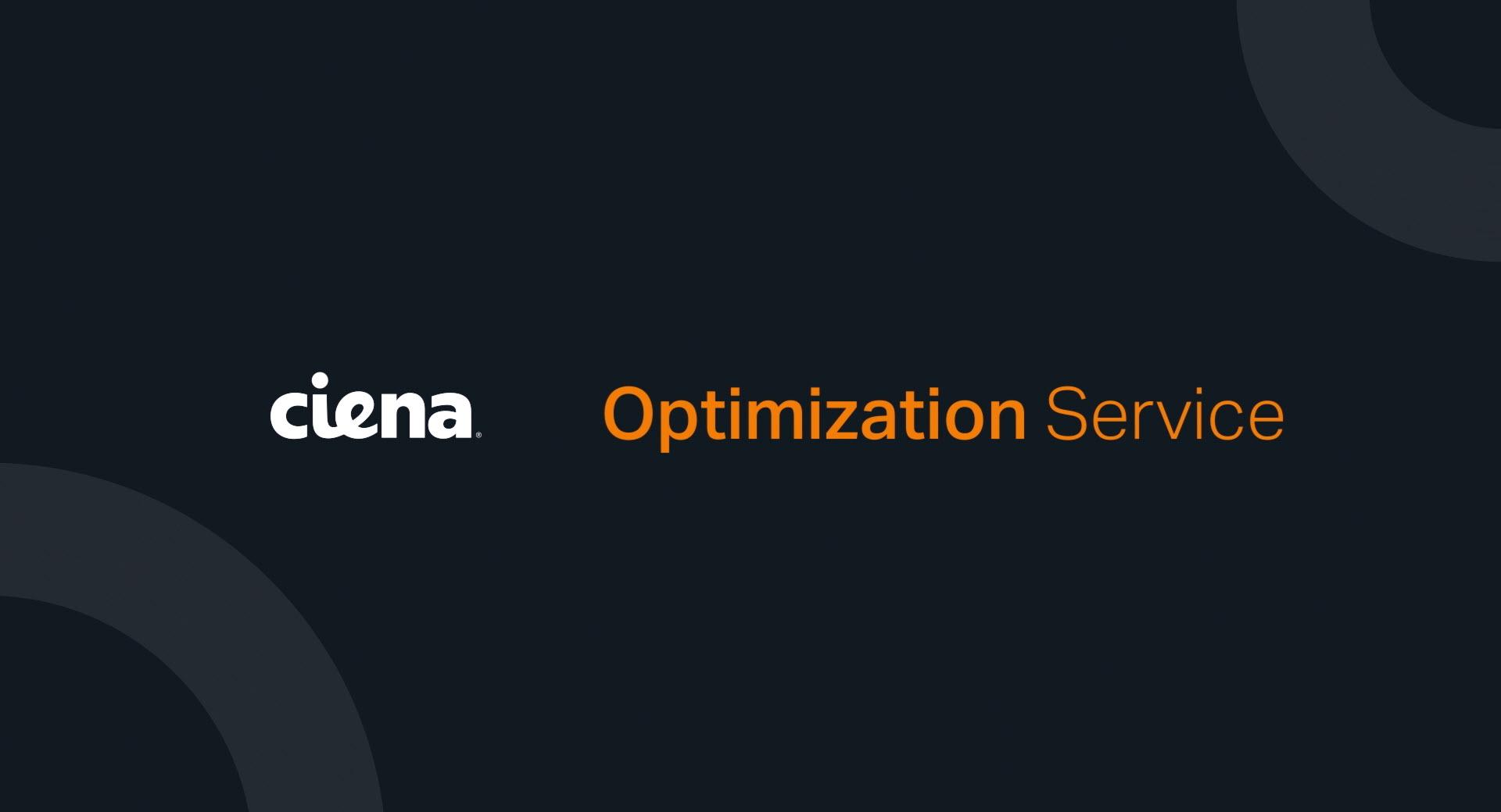 Ciena Optimization Service video thumbnail