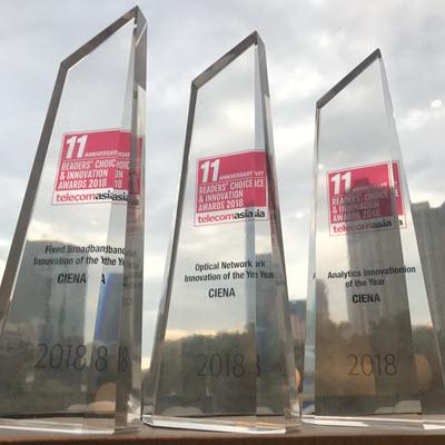 Image of Ciena's awards