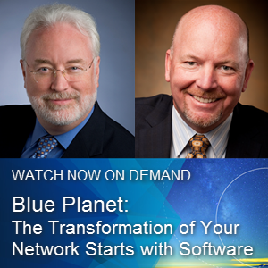 Blue Planet: The transformation of your network starts with software webinar promo