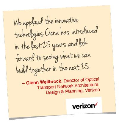 Glenn Wellbrock quote, Verizon